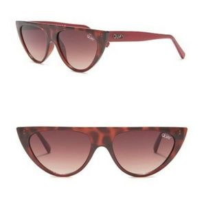 Quay Australia Sunglasses Cat Eye Tortoise NWT